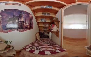 Harry Potter Bedroom (fisheye lens)